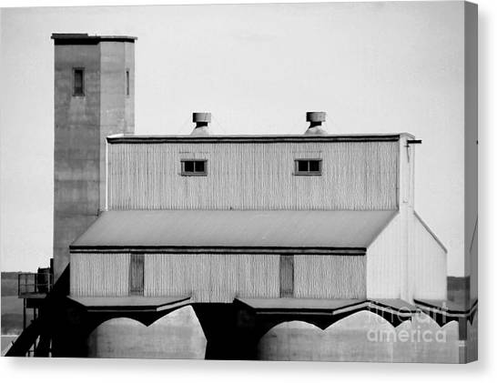 Canvas Print featuring the photograph High Rise by Stephen Mitchell