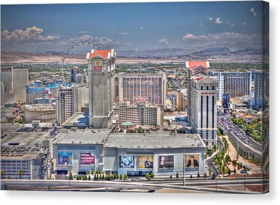 High Roller - Day Canvas Print