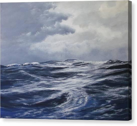 High Seas  Canvas Print by Dj Khamis