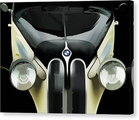 German Canvas Print - High Style by Douglas Pittman