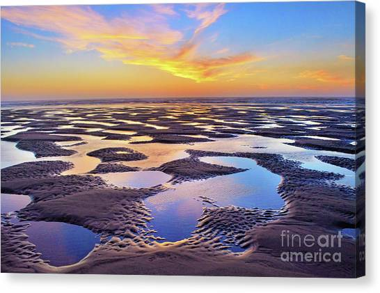 High Tide Impressions Canvas Print