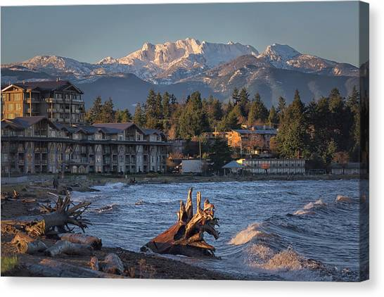 High Tide In The Bay Canvas Print