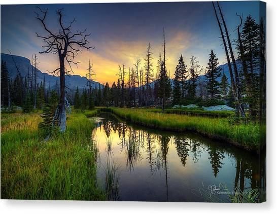 Uinta Canvas Print - High Uinta Meadow by James Zebrack
