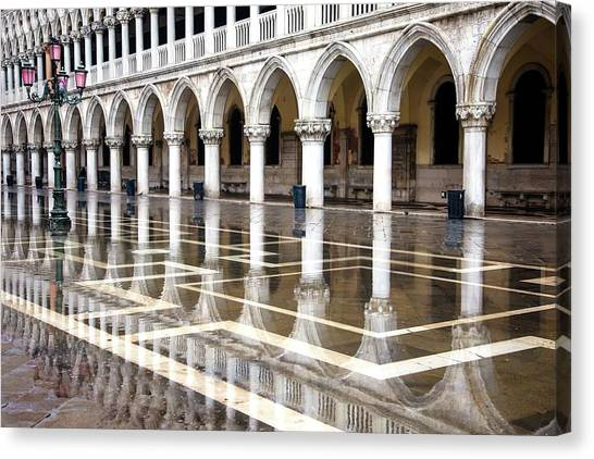 High Water At St. Mark's  Canvas Print