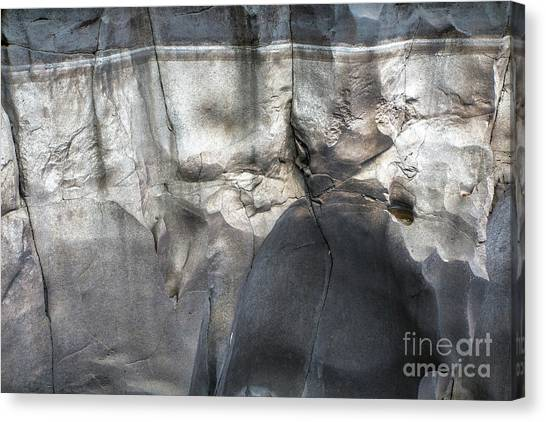 High Water Mark Rock Art By Kaylyn Franks Canvas Print