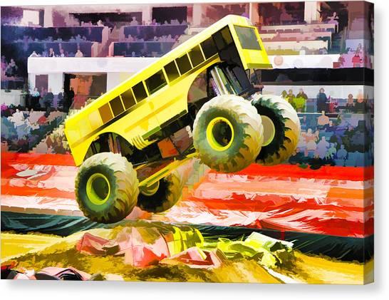 Grave Digger Monster Truck Canvas Prints | Fine Art America