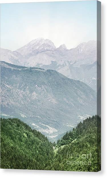 Altitude Canvas Print - Higher by Evelina Kremsdorf