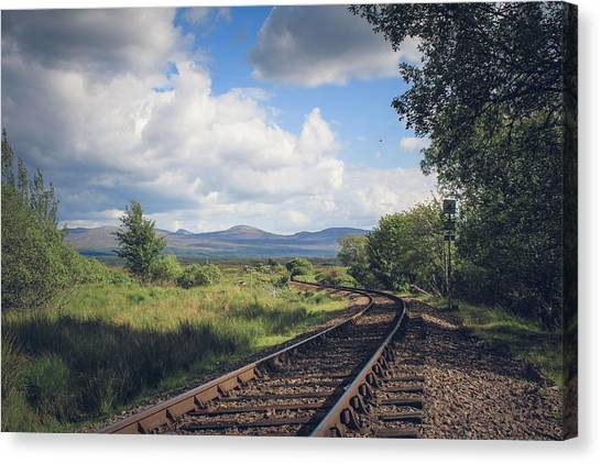Canvas Print - Highland Railway by Jo Jackson