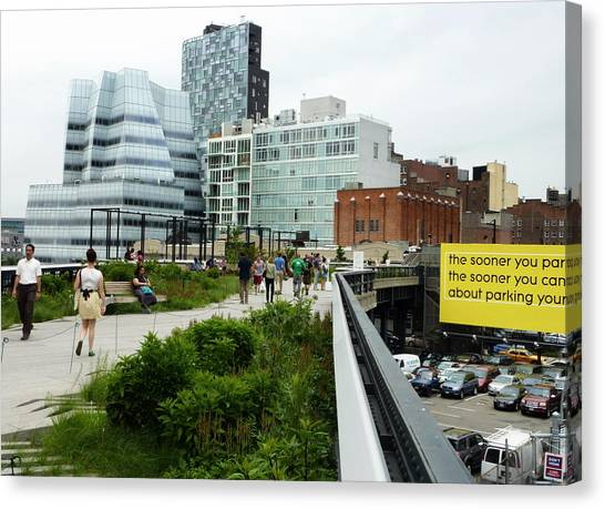 Highline Parking Canvas Print by Dan Stone