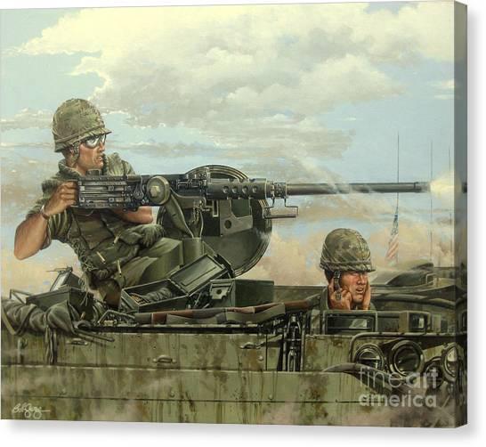 Highway 13 Canvas Print