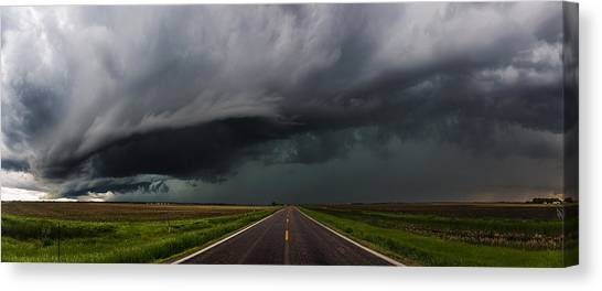 Tornadoes Canvas Print - Highway To Hell by Aaron J Groen