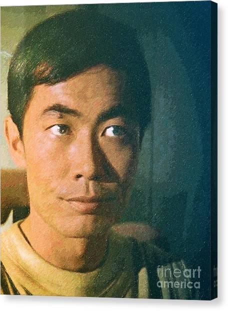 Uhura Canvas Print - Hikaru Sulu by Robert Radmore
