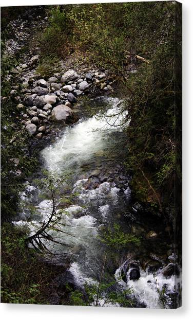 Hiking Wallace Falls#1 Canvas Print