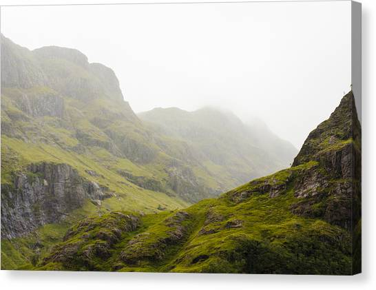 Canvas Print featuring the photograph Hill And Glen by Christi Kraft