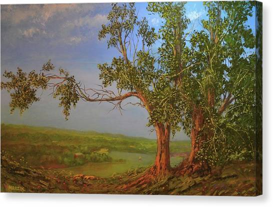 Hill Top Canvas Print