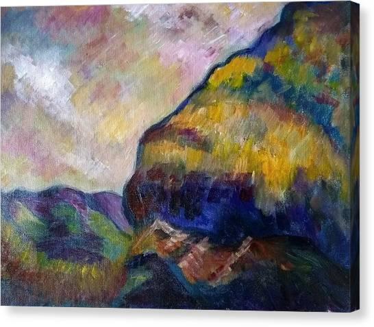Hills Of Jamaica Canvas Print by Kirkland  Clarke