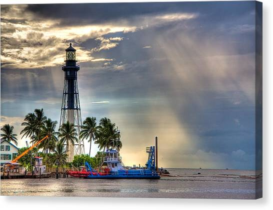 Hillsboro Inlet Lighthouse Canvas Print