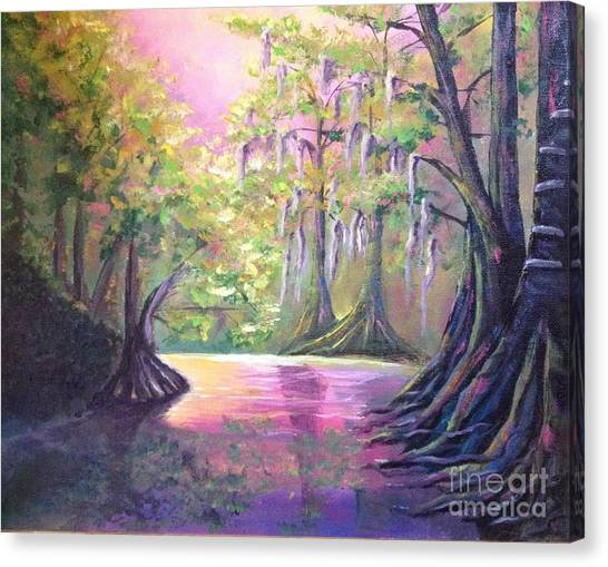 Withlacoochee River Nobleton Florida Canvas Print