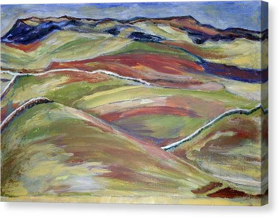 Northern Hills, Clare Island Canvas Print