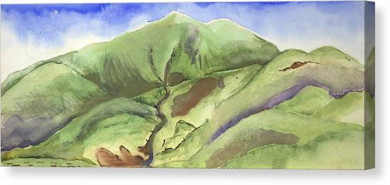 Hillside Panorama Canvas Print