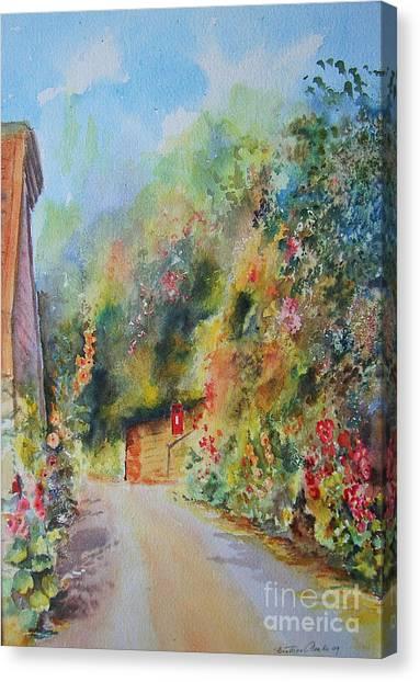Hillside Street Hythe Kent Canvas Print