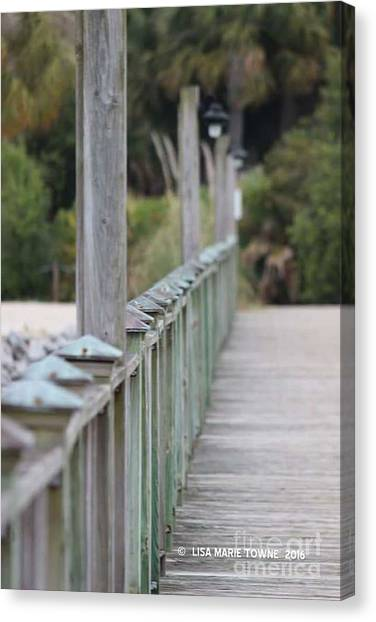 Canvas Print - Hilton Beachway by Lisa Marie Towne