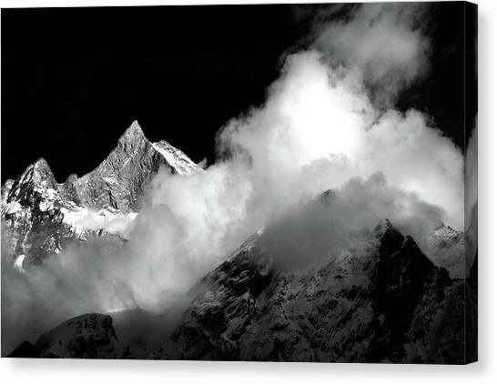 Himalayan Mountain Peak Canvas Print
