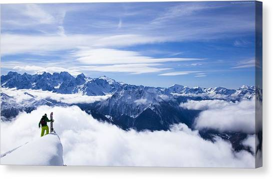 Kangchenjunga Canvas Print - Himalayas by Emma Brown