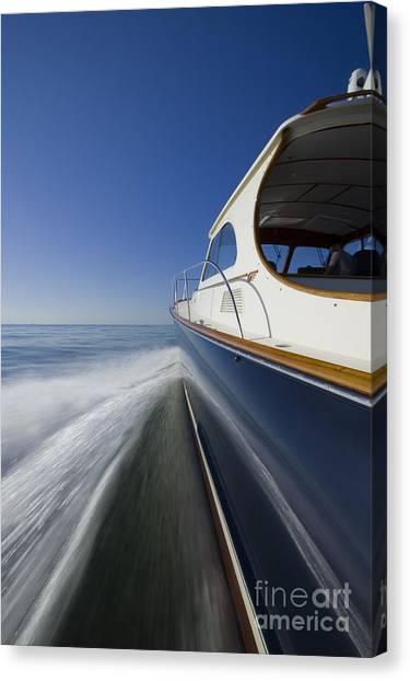 Hinckley Talaria 44 Motor Yacht Canvas Print