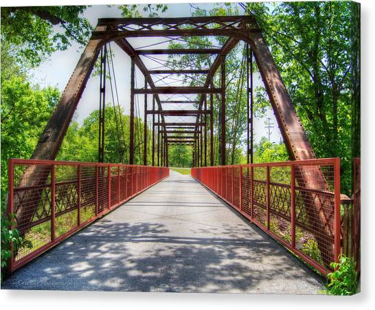 Hinkson Creek Bridge Canvas Print