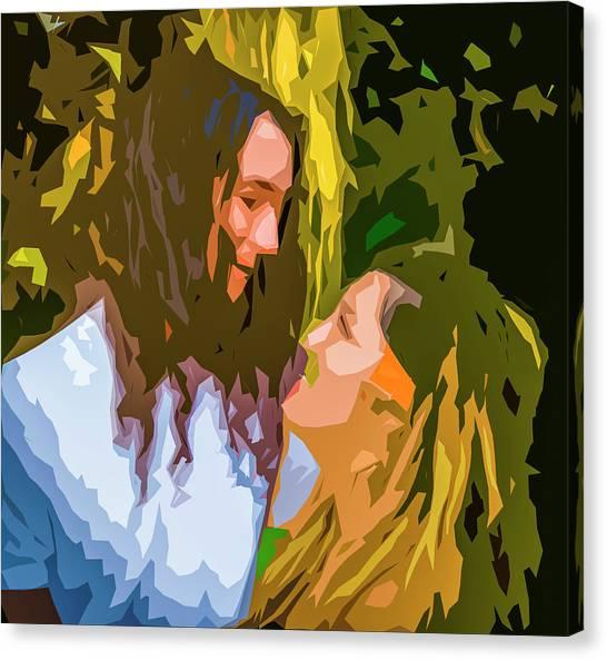 Hip Lovers Canvas Print
