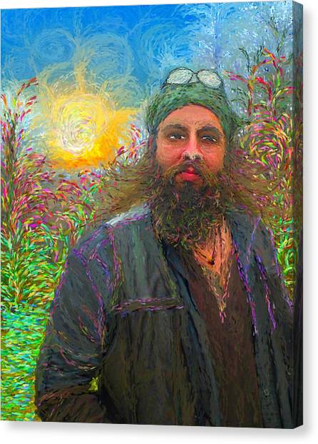 Hippie Mike Canvas Print