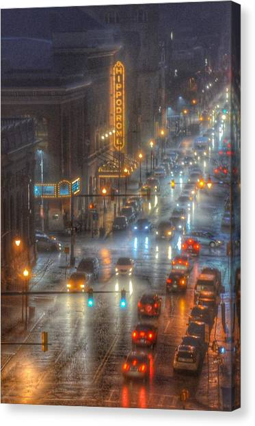 Hippodrome Theatre - Baltimore Canvas Print