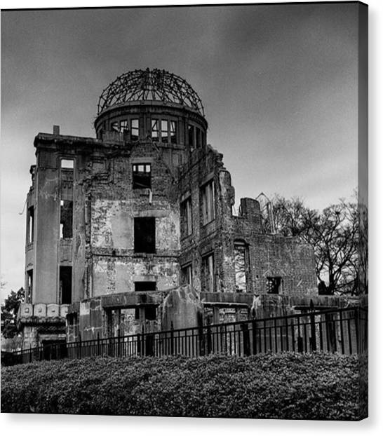 Japanese Canvas Print - Hiroshima Bomb Dome. #picoftheday by Alex Snay