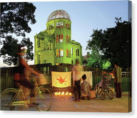 Conservation Canvas Print - Hiroshima Peace Memorial, Japan by OurPlace World Heritage