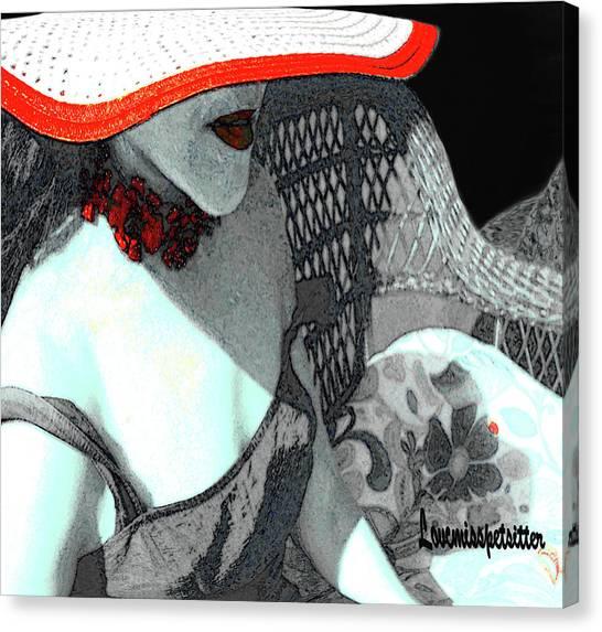 Abstract Woman Art 1 Canvas Print