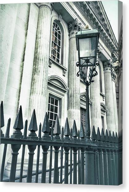 Academic Art Canvas Print - Historic Architecture Detail by Tom Gowanlock