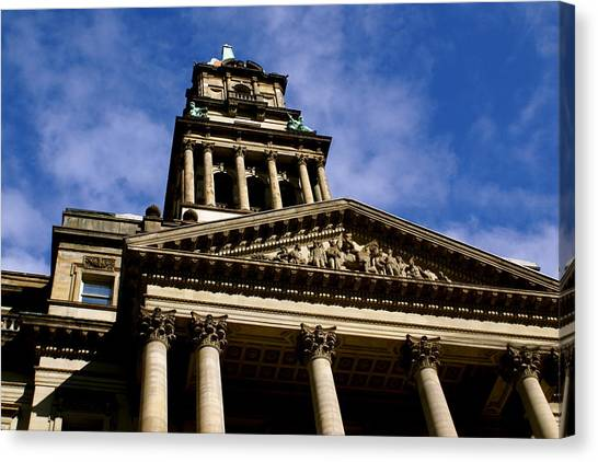 Historic Architecture Canvas Print by Sonja Anderson