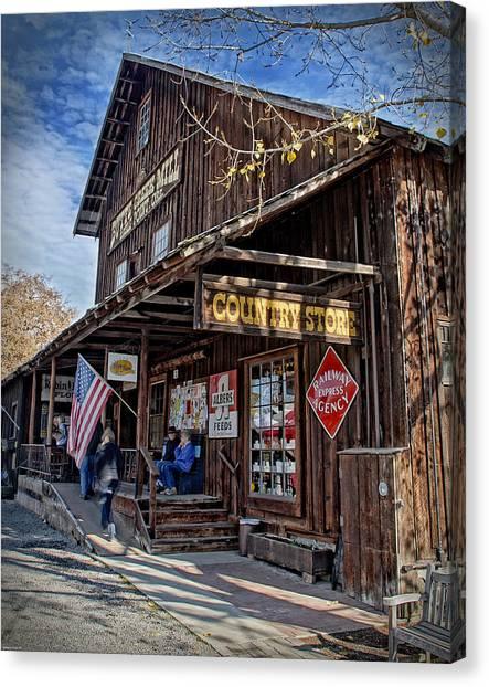 Historic Butte Creek Mill Canvas Print