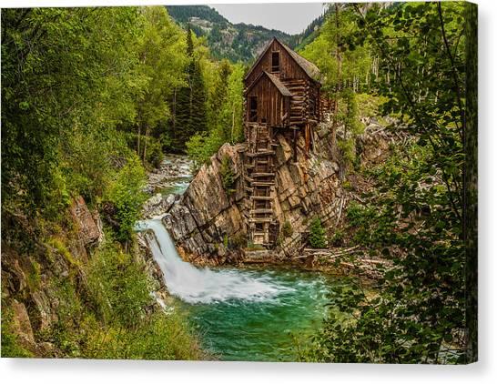 Historic Crystal River Mill  Canvas Print