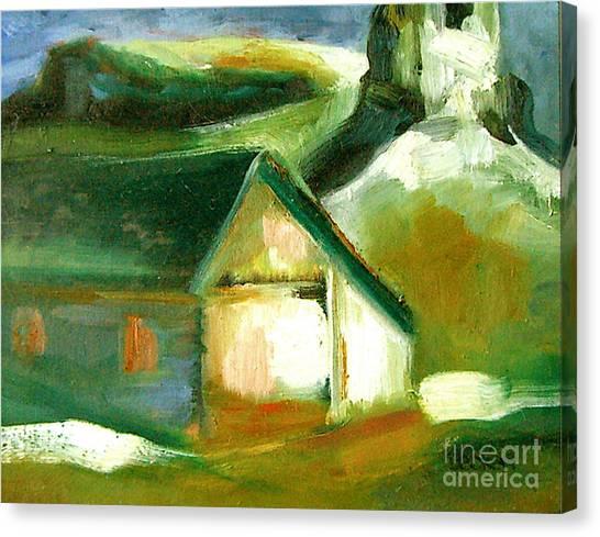 Historic Golden Colorado Canvas Print