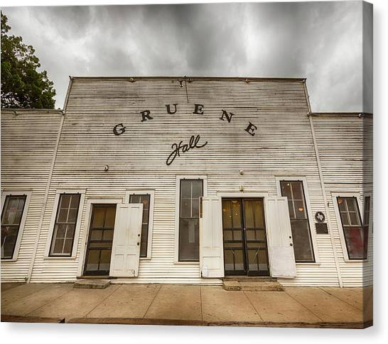 Historic Gruene Hall Canvas Print