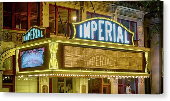 Augusta Canvas Print - Historic Imperial Theatre - Augusta by Stephen Stookey