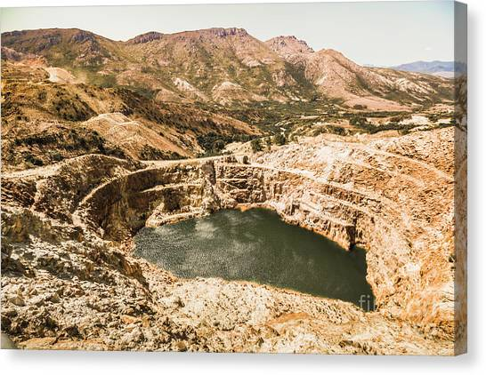 Industry Canvas Print - Historic Iron Ore Mine by Jorgo Photography - Wall Art Gallery