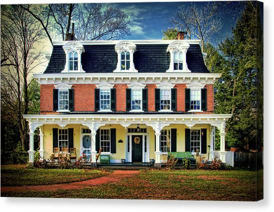 Historic Isaac Stover House  Canvas Print