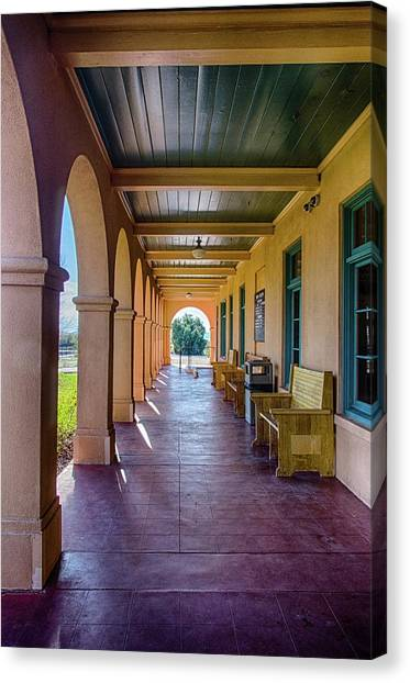 Historic Kelso Depot Canvas Print