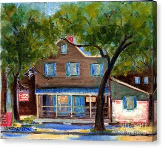 Historic Pirate's House In Savannah Canvas Print