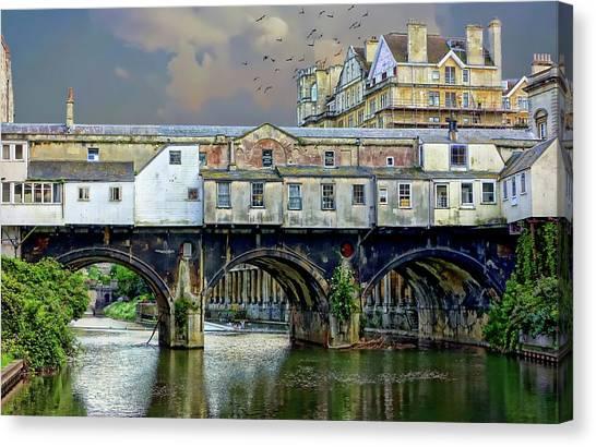 Historic Pulteney Bridge Canvas Print