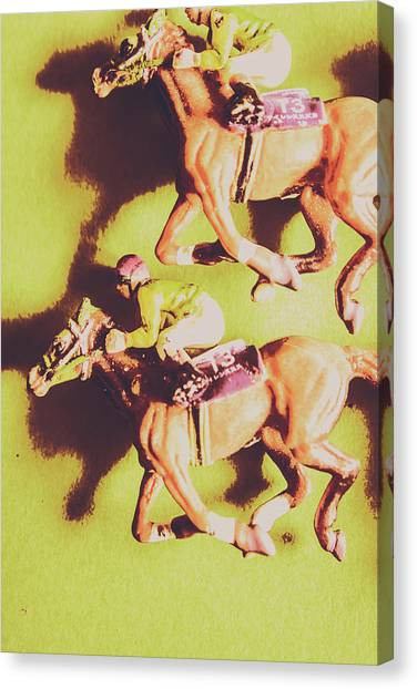Horseracing Canvas Print - Historic Racing Competition by Jorgo Photography - Wall Art Gallery
