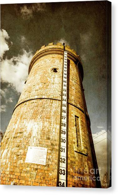 Tanks Canvas Print - Historic Water Storage Structure by Jorgo Photography - Wall Art Gallery